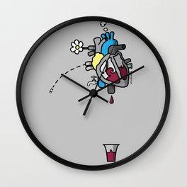 CuorVino - WinHeart Wall Clock