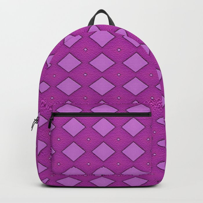 Diamonds - Pink Backpack