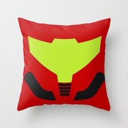Samus' visor Throw Pillow