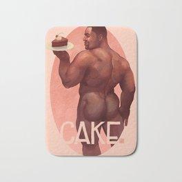 Chocolate Cake Bath Mat