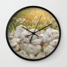 Sunset in Italy, fine art, landscape photo, Sicily photography, Puglia, Apulia, nature lover, love Wall Clock
