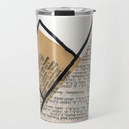 Paper Mountains Travel Mug
