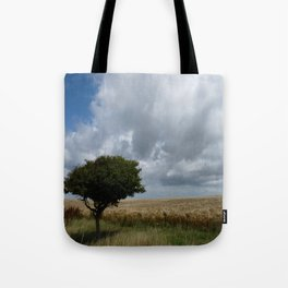 Tree and Clouds Tote Bag