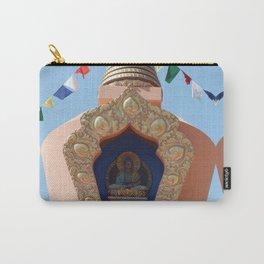 Buddhist Stupa  Carry-All Pouch