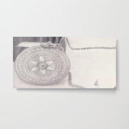 Traditional Jewellery Metal Print