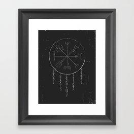 Rune Dreaming Framed Art Print