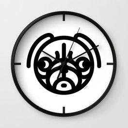 Sadden Pug - wear an icon Wall Clock