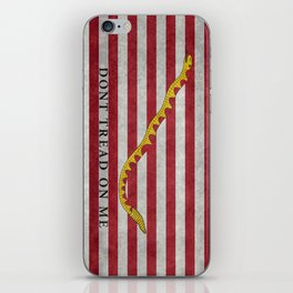 First Navy Jack flag of the USA, vintage iPhone Skin