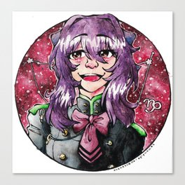 ONS Zodiac Series: Shinoa Canvas Print