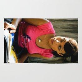 Rosario Dawson @ Death Proof Rug