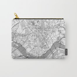 Seoul Map Line Carry-All Pouch