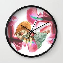 LA BELLE FLEUR Wall Clock