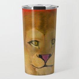 Color Pop Lion Travel Mug