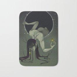 Black Moon Bath Mat