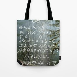 WFS Mandate 00234: Return to the Land of Saturated Bundles™ Tote Bag