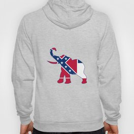 Mississippi Republican Elephant Flag Hoody