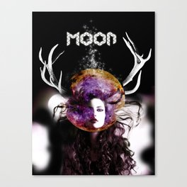 Moon's Sister Canvas Print