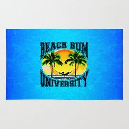 Beach Bum University Rug