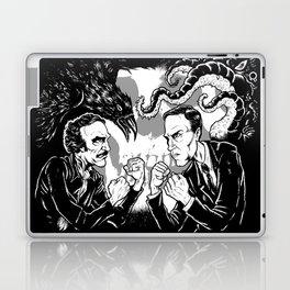 Poe vs. Lovecraft Laptop & iPad Skin