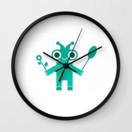 Romantic Robot #society6 #decor #buyart #artprint Wall Clock