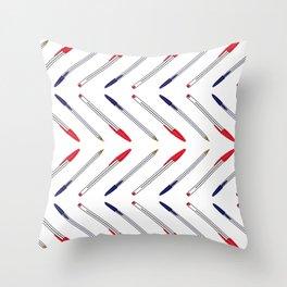 PENS Throw Pillow