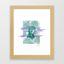 GRL Framed Art Print