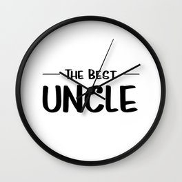 The Best Uncle Wall Clock