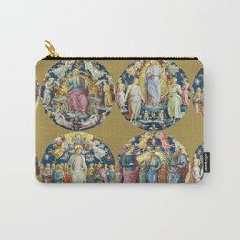 """Raffaello Sanzio da Urbino """"Ceiling Of The Stanza Dell Incendio Del Borgo"""" Carry-All Pouch"""