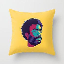 Hey Donald Throw Pillow