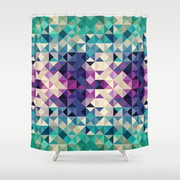 Feeling Triangle Shower Curtain