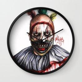 TWISTY THE CLOWN Wall Clock