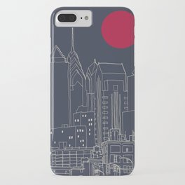 Philly Blueprint iPhone Case