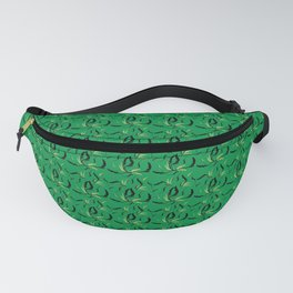 Vintage wall green Fanny Pack