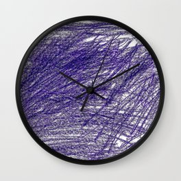 Lila Love Lightroom Colored Pencils Wall Clock