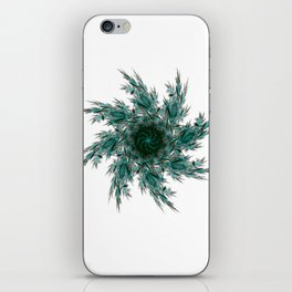 Fractal mandala iPhone Skin