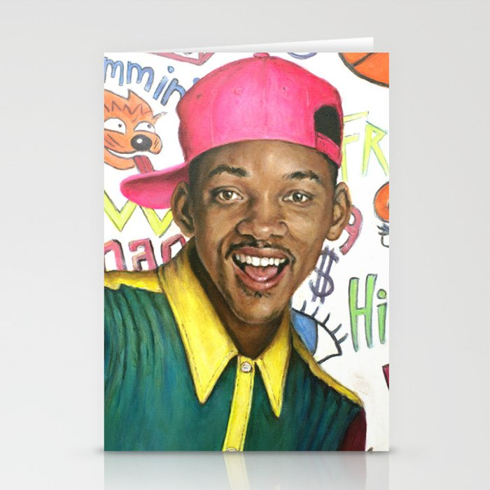Fresh Prince of Bel Air - Will Smith Stationery Cards