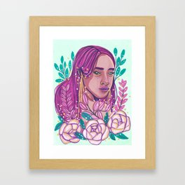 Meek Framed Art Print