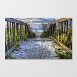 Crossover Walkway Canvas Print