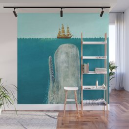 The Whale Wall Mural