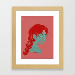Princess Framed Art Print