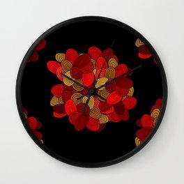 """""""Color Skein"""" Wall Clock"""