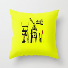 ARCHiTECTURAL DESiGN | Painting Throw Pillow