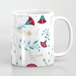 Egyptian Papyrus Flowers Coffee Mug