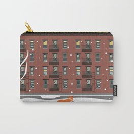 Winter in New York Carry-All Pouch
