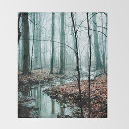 Gather up Your Dreams Throw Blanket