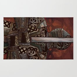 The Knotted Knight Rug