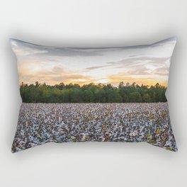 Cotton Field 11 Rectangular Pillow