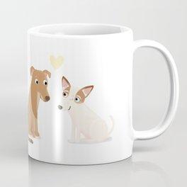 "Custom ""Molly and Gabby"" Dogs Coffee Mug"