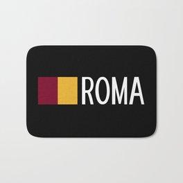 Italy: Roman Flag & Roma Bath Mat