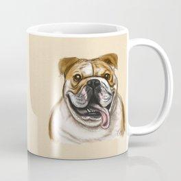 Smiling Bulldog Coffee Mug